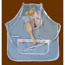 "Child's Aprons W/Spoon /""Angel"""