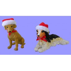 Christmas Dogs /Figurines