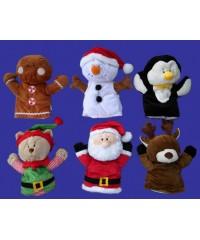 Playtime Plush Christmas Puppets