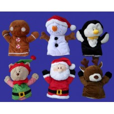 Playtime Plush Christmas Puppets