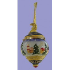 Personalized Christmas Ornaments 3 /Trinket Boxes