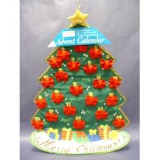 "Advent Calendars: ""Candy Cane"" Christmas Tree 1"