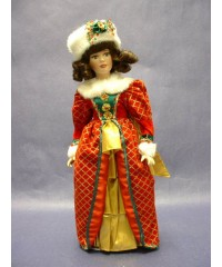 "Dolls : Porcelain Holiday: ""Holly"""