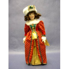 """Dolls : Porcelain Holiday: """"Holly"""""""