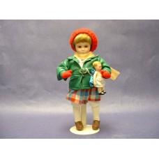 "Dolls : ""Little Girl & Her Doll"" /Norman Rockwell"
