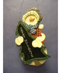 Decorative Snowman Chalkboards