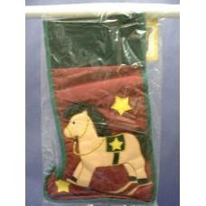 """Christmas Stockings: """"Rocking Horse"""""""