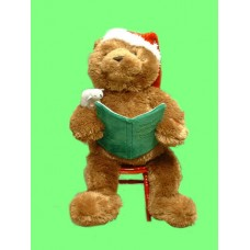 "Storytime Bear /Reads ""Twas the Night Before Xmas"""