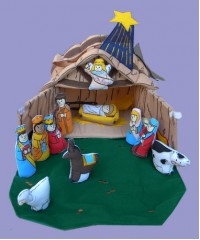 Nativity House Set