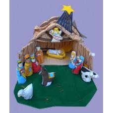 Nativity House Set