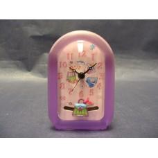 """Tic-Toc"" Clocks W/Pendulum /Pink or Blue"