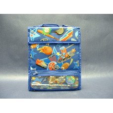 """Lunch Boxes & Bags /Insulated Lunch Bag: """"Sports"""" with Pencil Case & Accessories"""