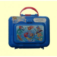 """Lunch Boxes & Bags/""""Side Kick"""" Lunch Box Set /Sports"""