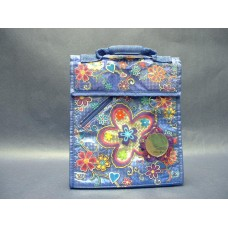 """Lunch Boxes & Bags/Insulated Lunch Bag: """"Flower"""" with Accessories"""