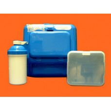 "Lunch Boxes & Bags /""Side Kick"" Lunch Box Set /Plain"