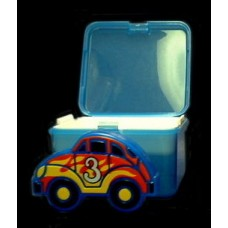 "Double-Decker Sandwich Box / Reusable Ice Pack ""Keep It Cool!"""
