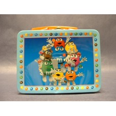 """M & M's"" Metal Lunch Boxes"