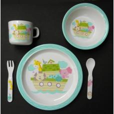 """Dish Sets /5 Pc. Dish Sets /""""Noah's Ark"""""""
