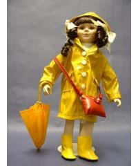 "Porcelain Dolls /""April"" Showers"