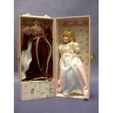 "Music Box Porcelain Dolls Set /""Rapunzel"""