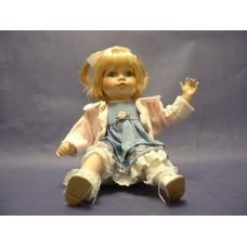 Porcelain Dolls /Waving Doll Girl