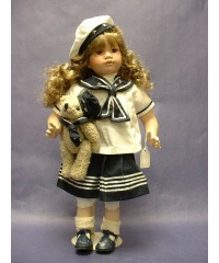 "Porcelain Dolls /""Suzy"" The Sailor Girl"