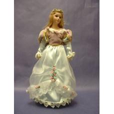 Porcelain Dolls: Princess Dolls /Blue Dress