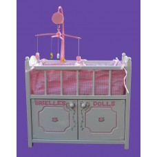 Doll Cribs w/ Storage Unit