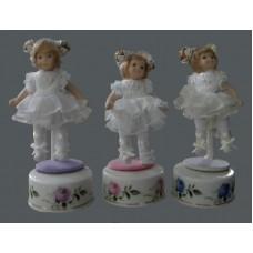 """Porcelain Dolls """"Musical Ballerinas"""""""
