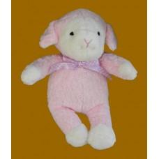 Lambs /Pink Plush