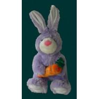 Bunnies /Purple Rabbit W/Carrot