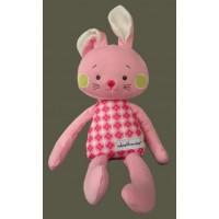 "Bunnies/ ""Wheatberries"" Bunny / Pink"