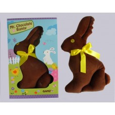 Mr. Chocolate Bunny /PLUSH!! Chocolate