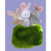 Finger Puppets /Bunnies-in-the-Meadow