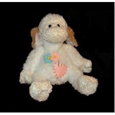 "Lambs /""Wooly Lamb"" Flowers & Heart"