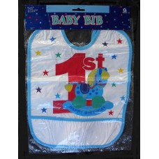 1st Birthday Bibs: Rocking Horse