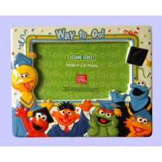 "Graduation Frames /""Way to Go!"" Sesame St."