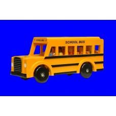 School Bus /Wood