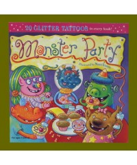 Monster Party /Glitter Tatoos:Halloween Books