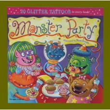 Monster Party /Glitter Tatoos:Halloween Books