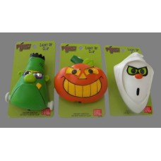 """Frighty Night"" Light-Up Clips /Halloween"
