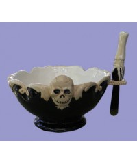 Gothic Bowls w/Spreader Knife