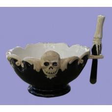 Gothic Bowls w/Spreader Knife