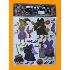 """Magnetic Fun Sets """"Dress-A-Witch"""""""