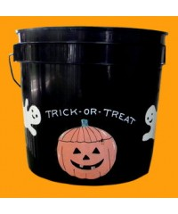 """Small Black Buckets Sample /""""Trick Or Treat"""""""