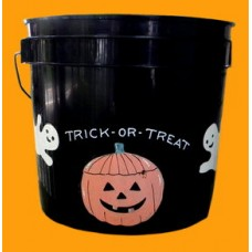 "Small Black Buckets Sample /""Trick Or Treat"""
