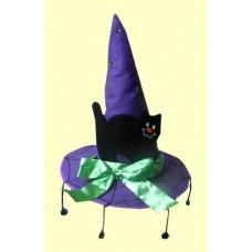 Witch Hats W/Black Cat