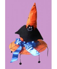 Witch Hats With Bat