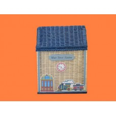 """Large """"Main St."""" Wicker Hampers"""