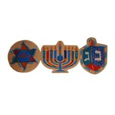 """Puzzles /Lace-Up Puzzles SET: """"Happy Hanukkah"""""""